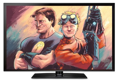 comedy comics dr horrible best friends