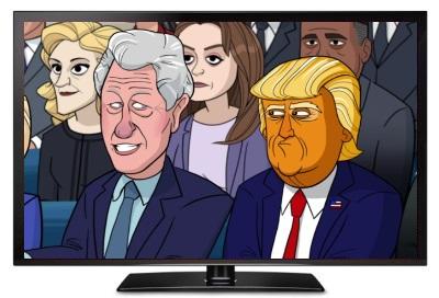 our cartoon president s3e1 index