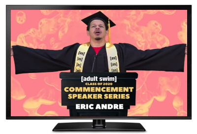 adult swim commencement speeches andre