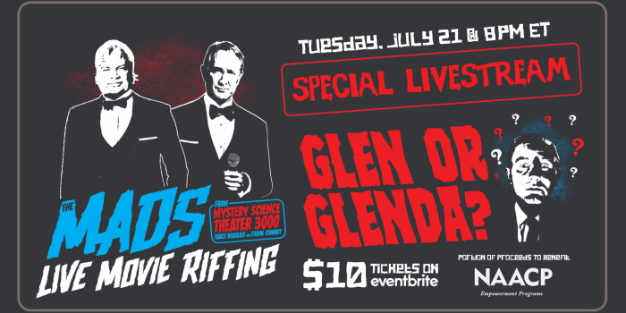 The Mads - Glen or Glenda Banner a